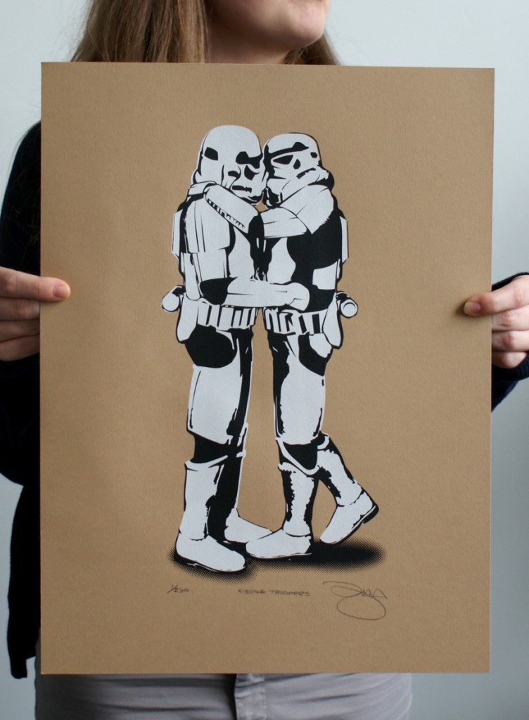 Kissing Troopers