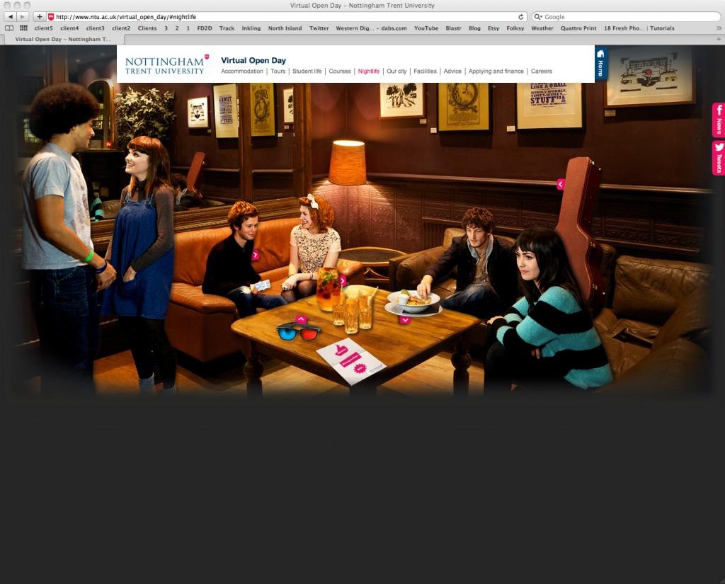 Notts Uni Website prmo!